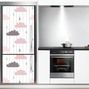 # Αυτοκόλλητο ψυγείου μοτίβο σύννεφα - Sticker Box