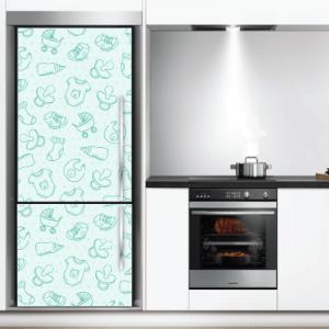 # Αυτοκόλλητο ψυγείου παιδικό μοτίβο για αγόρια - Sticker Box