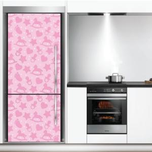 # Αυτοκόλλητο ψυγείου παιδικό μοτίβο για κορίτσια - Sticker Box