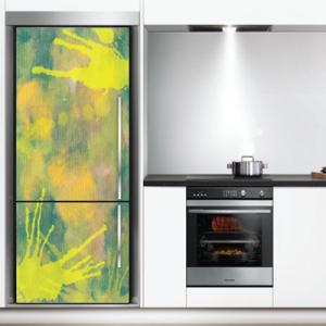 # Αυτοκόλλητο ψυγείου πιτσιλιές - Sticker Box