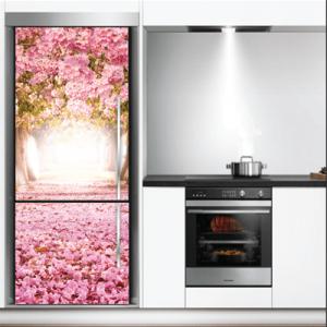 # Αυτοκόλλητο ψυγείου ρομαντικό τοπίο - Sticker Box