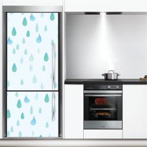 # Αυτοκόλλητο ψυγείου σταγόνες βροχής - Sticker Box