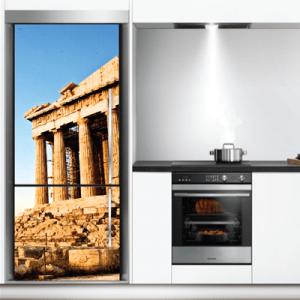 # Αυτοκόλλητο ψυγείου Ακρόπολη - Sticker Box