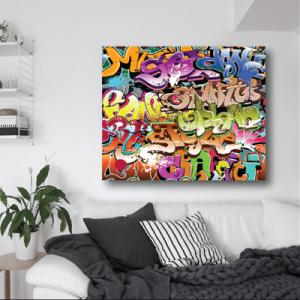 # Πίνακας με graffiti_1 - Sticker Box