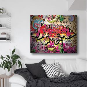 # Πίνακας με graffiti_4 - Sticker Box