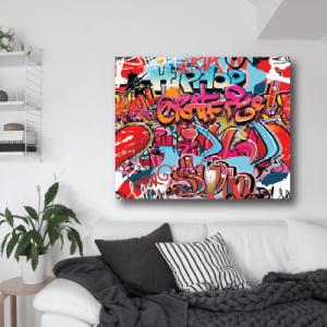 # Πίνακας με graffiti_5 - Sticker Box