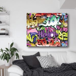 # Πίνακας με graffiti_6 - Sticker Box