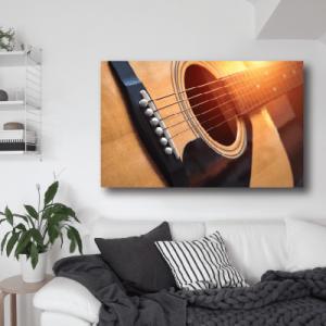 # Πίνακας με κιθάρα - Sticker Box