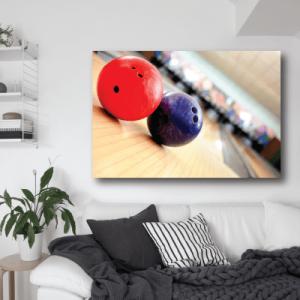 # Πίνακας μπάλες bowling - Sticker Box