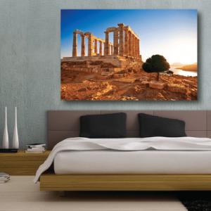 # Πίνακας Ναός του Ποσειδώνα Ελλάδα - Sticker Box