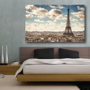 # Πίνακας Παρίσι vintage - Sticker Box