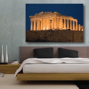 # Πίνακας Παρθενώνας Αθήνα νύχτα - Sticker Box