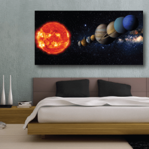 # Πίνακας ήλιος και πλανήτες - Sticker Box