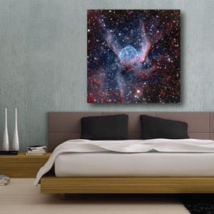 # Πίνακας αστέρια στο διάστημα - Sticker Box