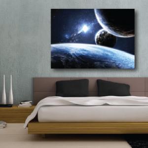 # Πίνακας διάστημα με πλανήτες - Sticker Box