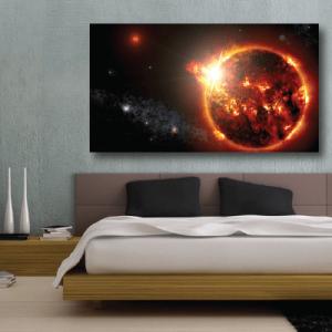 # Πίνακας με ήλιο στο διάστημα - Sticker Box