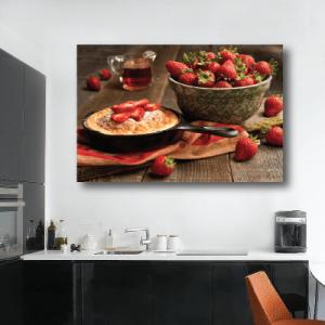 # Πίνακας με γλυκά pancakes με φράουλες - Sticker Box