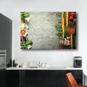 # Πίνακας με διάφορα λαχανικά - Sticker Box