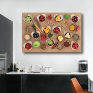 # Πίνακας με διάφορα φρούτα και λαχανικά - Sticker Box