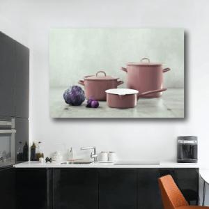 # Πίνακας με κατσαρόλες για κουζίνα - Sticker Box