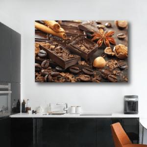 # Πίνακας με κομμάτια σοκολάτας - Sticker Box