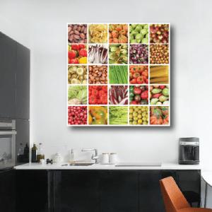 # Πίνακας με λαχανικά - Sticker Box