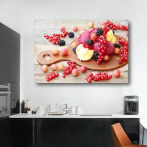 # Πίνακας με παγωτό και φρούτα - Sticker Box