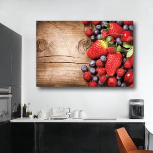 # Πίνακας με φράουλες και βατόμουρα - Sticker Box