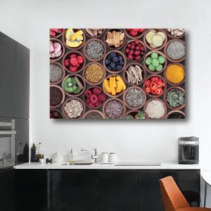# Πίνακας με φρούτα και λαχανικά - Sticker Box