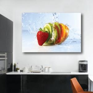 # Πίνακας με φρούτα - Sticker Box
