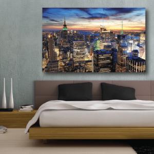 # Πίνακας νύχτα στη Νέα Υόρκη - Sticker Box