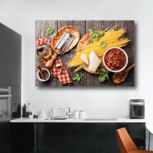 # Πίνακας σε καμβά με φαγητό - Sticker Box