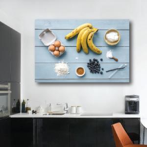 # Πίνακας συνταγή με μπανάνες - Sticker Box