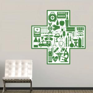 # Αυτοκόλλητο για φαρμακείο 1 - Sticker Box