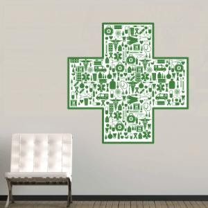 # Αυτοκόλλητο για φαρμακείο 2 - Sticker Box