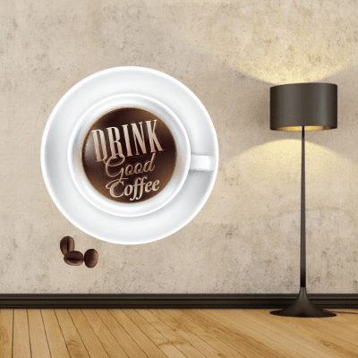 # Αυτοκόλλητα τοίχου για καφετέριες - Sticker Box