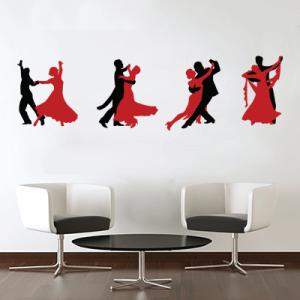 # Αυτοκόλλητο τοίχου με χορό - Sticker Box