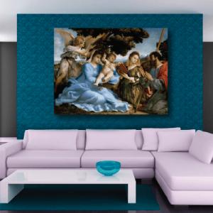 # Πίνακας έργο τέχνης Λορέντσο Λόττο - Sticker Box
