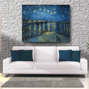 # Πίνακας έργο τέχνης Van Gogh Έναστρη νύχτα - Sticker Box