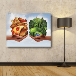 # Πίνακας διατροφικές συνήθειες - Sticker Box