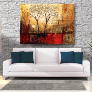 # Πίνακας ζωγραφικής με δέντρα - Sticker Box