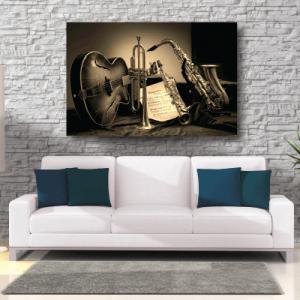 # Πίνακας μουσικά όργανα - Sticker Box