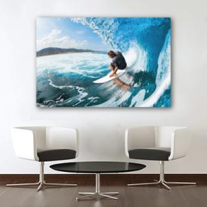 # Πίνακας σερφ στη θάλασσα - Sticker Box