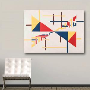 # Πίνακας τρίγωνα και γραμμές - Sticker Box