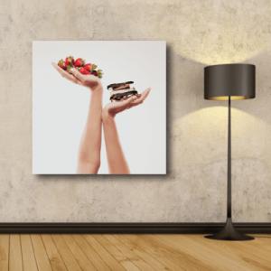 # Πίνακας φράουλες και σοκολάτες - Sticker Box