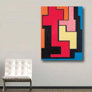 # Πίνακας χρωματιστά σχήματα - Sticker Box
