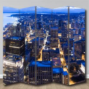 # Παραβάν Νέα Υόρκη νύχτα - Sticker Box