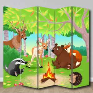 # Παραβάν ζωάκια του δάσους - Sticker Box