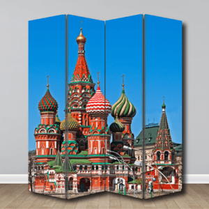 # Παραβάν ζωγραφιά με Ρωσία - Sticker Box