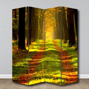 # Παραβάν με δάσος - Sticker Box